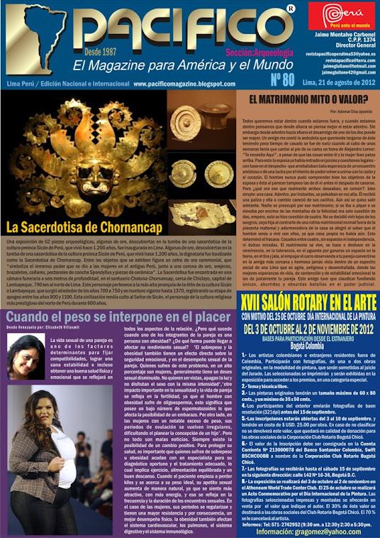 Revista Pacífico Nº 80 Arqueología