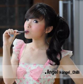 Angel, Foto dan Biodata lengkap personil Cherry Belle