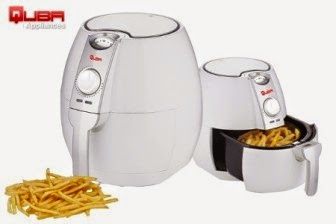 Buy Quba Air Fryer at 52% off + Extra 10% off at Rs.4900 : buy To Earn