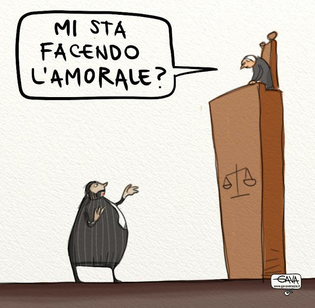 Gava Satira Vignette Fiorito Legge