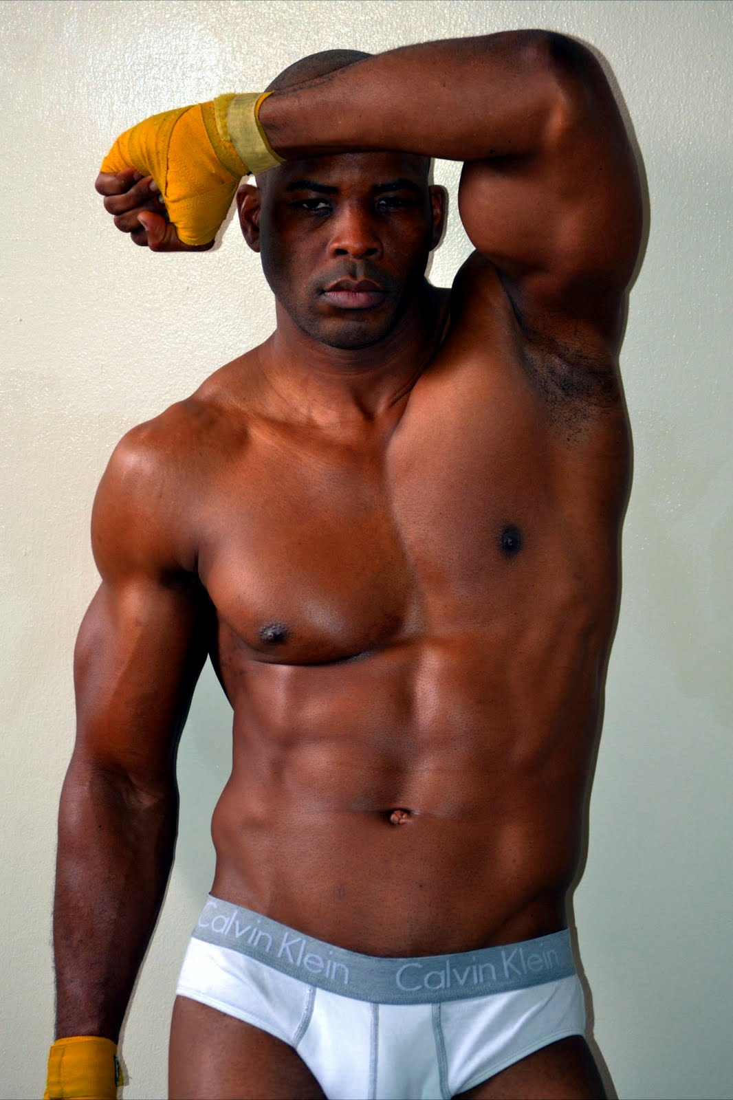 naked black men models