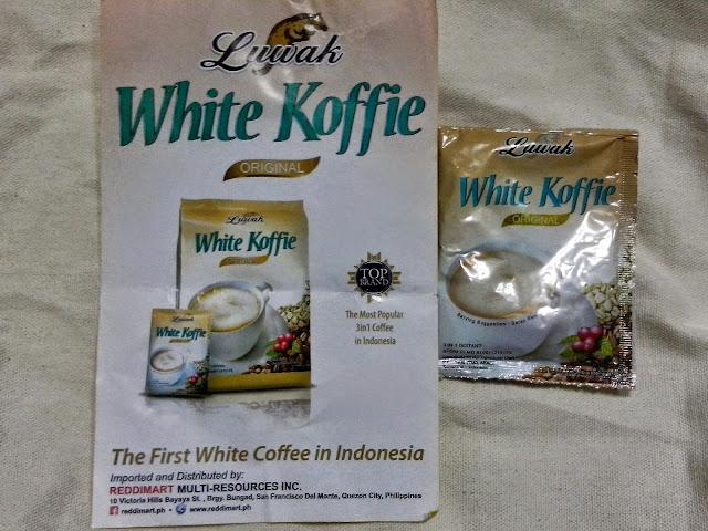 Luwak White Koffie.