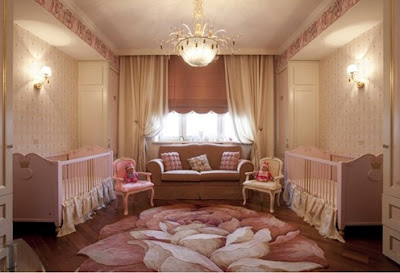 foto dormitorio bebés gemelas