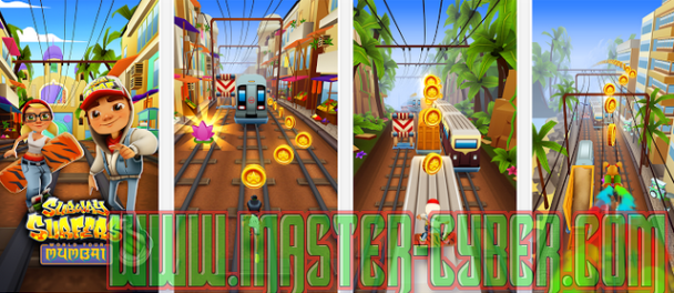 Download Subway Surfer Mumbai Terbaru for Android