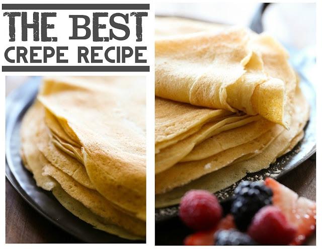 The Best Crepe Recipe