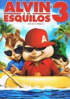 a3 Alvin e os Esquilos 3   DVDRip AVI Dual Áudio + RMVB Dublado