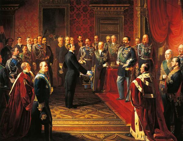 Imparare con la storia 70 il risorgimento italiano dalla for Storia del parlamento italiano