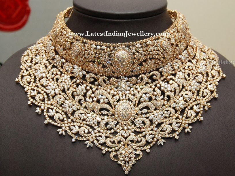Kirtilals Diamond Bridal Necklace
