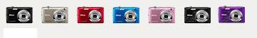 Colores de la cámara Nikon S2600