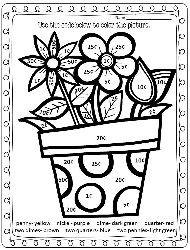 spring break coloring pages - photo#22