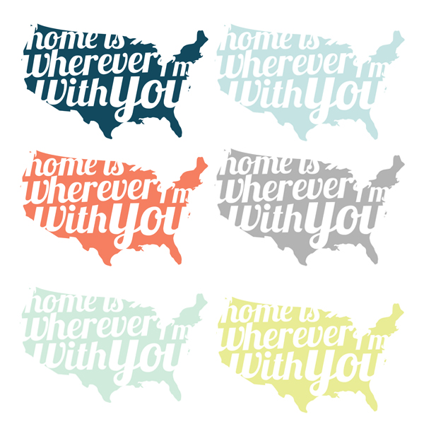 home is wherever i'm with you free printable