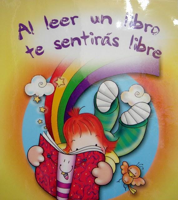 ESOS LOCOS BAJITOS DE INFANTIL: CARTELES DIA DEL LIBRO
