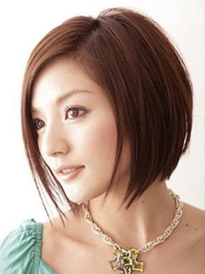 Model rambut pendek wanita short bob waves