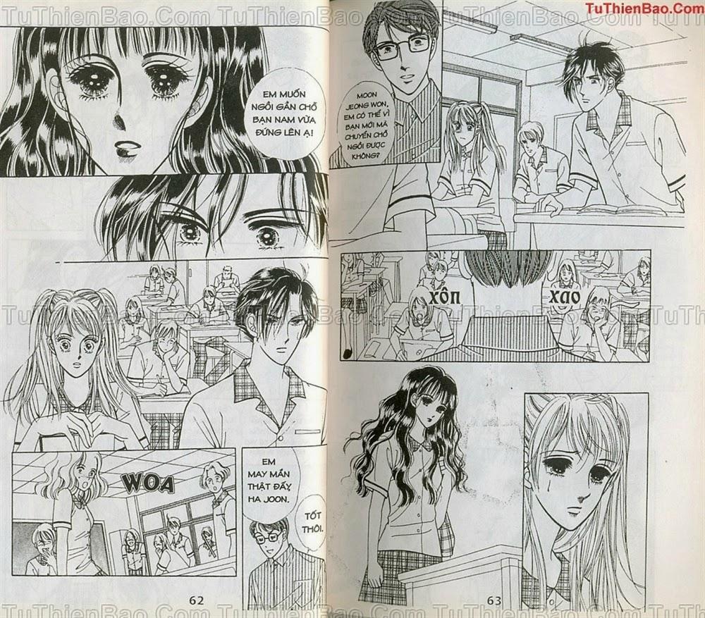 Nữ sinh chap 4 - Trang 32