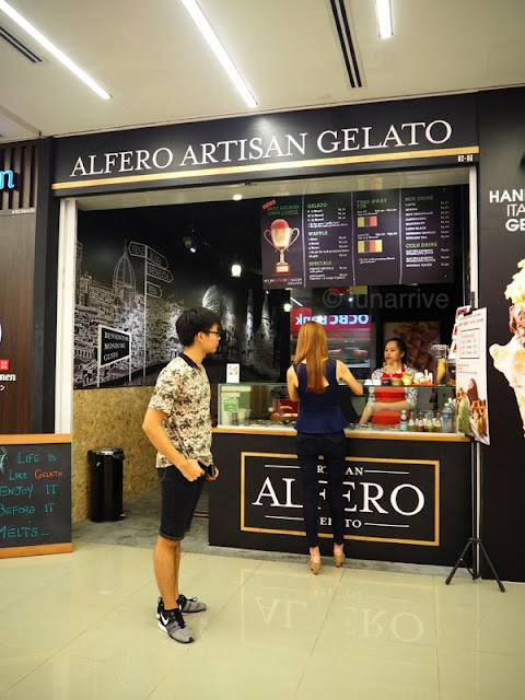 Alfero Artisan Gelato Orchard Gateway Food Review Lunarrive Singapore Lifestyle Blog