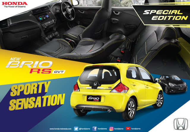 HONDA BRIO LIMITED EDITION