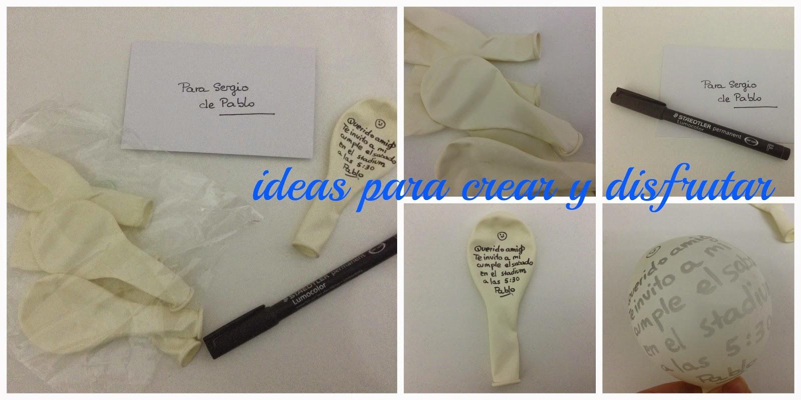 Ideas para crear y disfrutar invitaciones originales de - Ideas originales para 40 cumpleanos ...