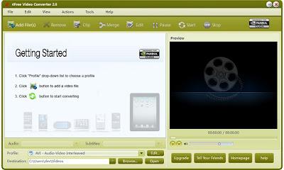 تحميل برنامج 4Free Video Converter 2013 لتحويل صيغ الفيديو مجانا