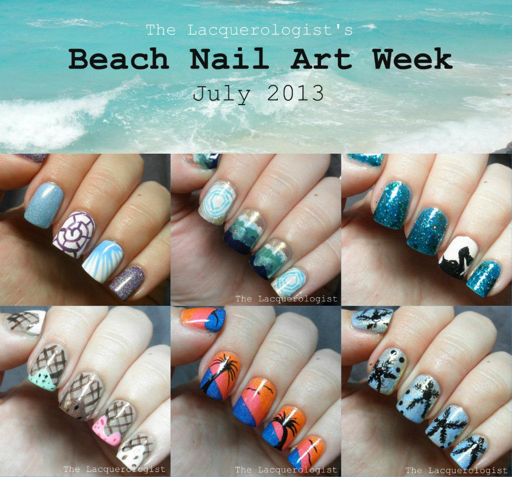 Beach Nail Art Week Round-up
