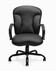 Leather Big and Tall Chair