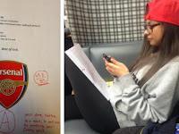 Uji Kesetiaan, Cewek Cantik Ini Dites 'Ujian Arsenal'
