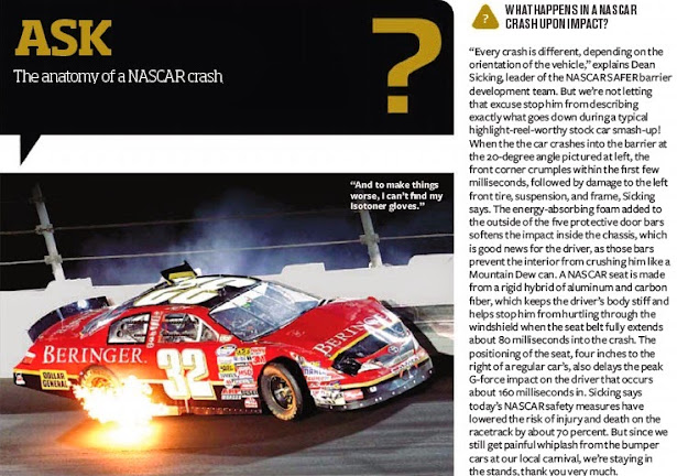 Ask...The Anatomy Of A NASCAR Crash