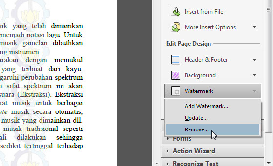 how to remove watermark from pdf file online