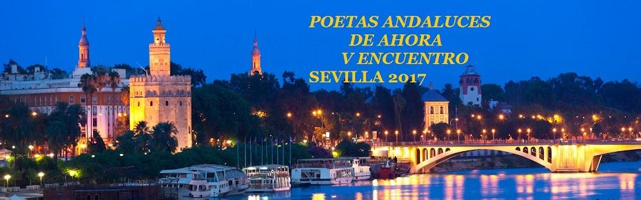 POETAS ANDALUCES DE AHORA : V ENCUENTRO. SEVILLA