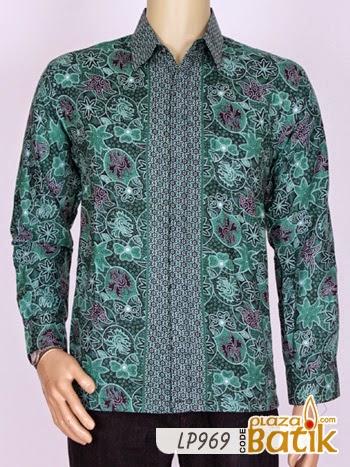 Baju Batik Pria Lengan Panjang Lp969 Plaza Batik Baju