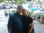 Com o escritor  Osvaldo Pineda (ANAC)