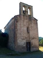 Façana de ponent de l'església de Santa Maria de Merola