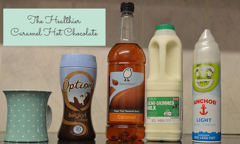 Healthy Caramel Hot Chocolate ingredients