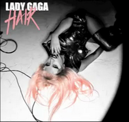 lady gaga hair single cover art. Posted in: Lady Gaga,single