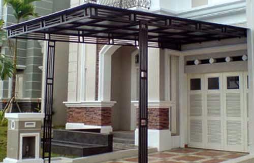 Kanopy minimalis modern 5