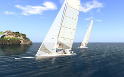 Realistic sailing