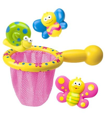 This is what every girls easter basket is begging for this year even though ernie really loves rubber duckies i think any little girl would much prefer this cute butterfly catcher bath toy instead negle Image collections
