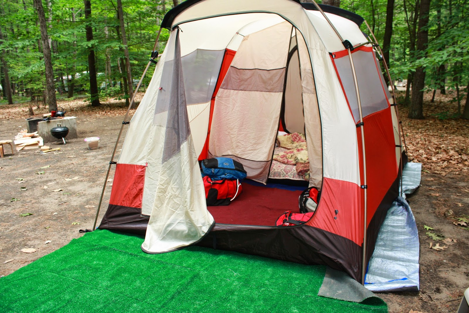 It is really very wrong to wash the tent. It is not good idea. Yes it is always better to have tent cleared with water. Water is not good for fabric. & Going Camping   Raven Adventures