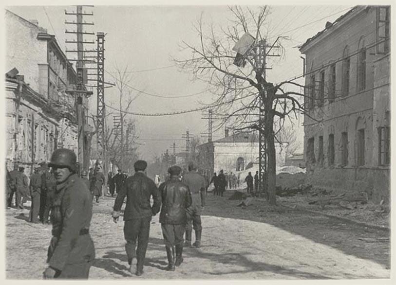 Симферополь во время Второй мировой войны
