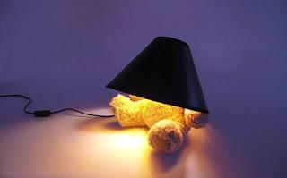 Desain Lampu Tidur Anak Lucu Bentuk Boneka Beruang