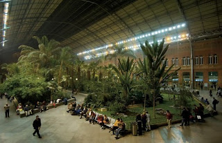 Ada Hutan Dalam Statiun Madrid