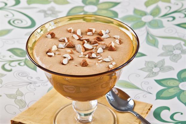 Hoy, invito yo !: Mousse de dulce de leche