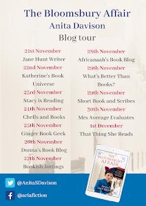 Blog Tour: A Bloomsbury Affair