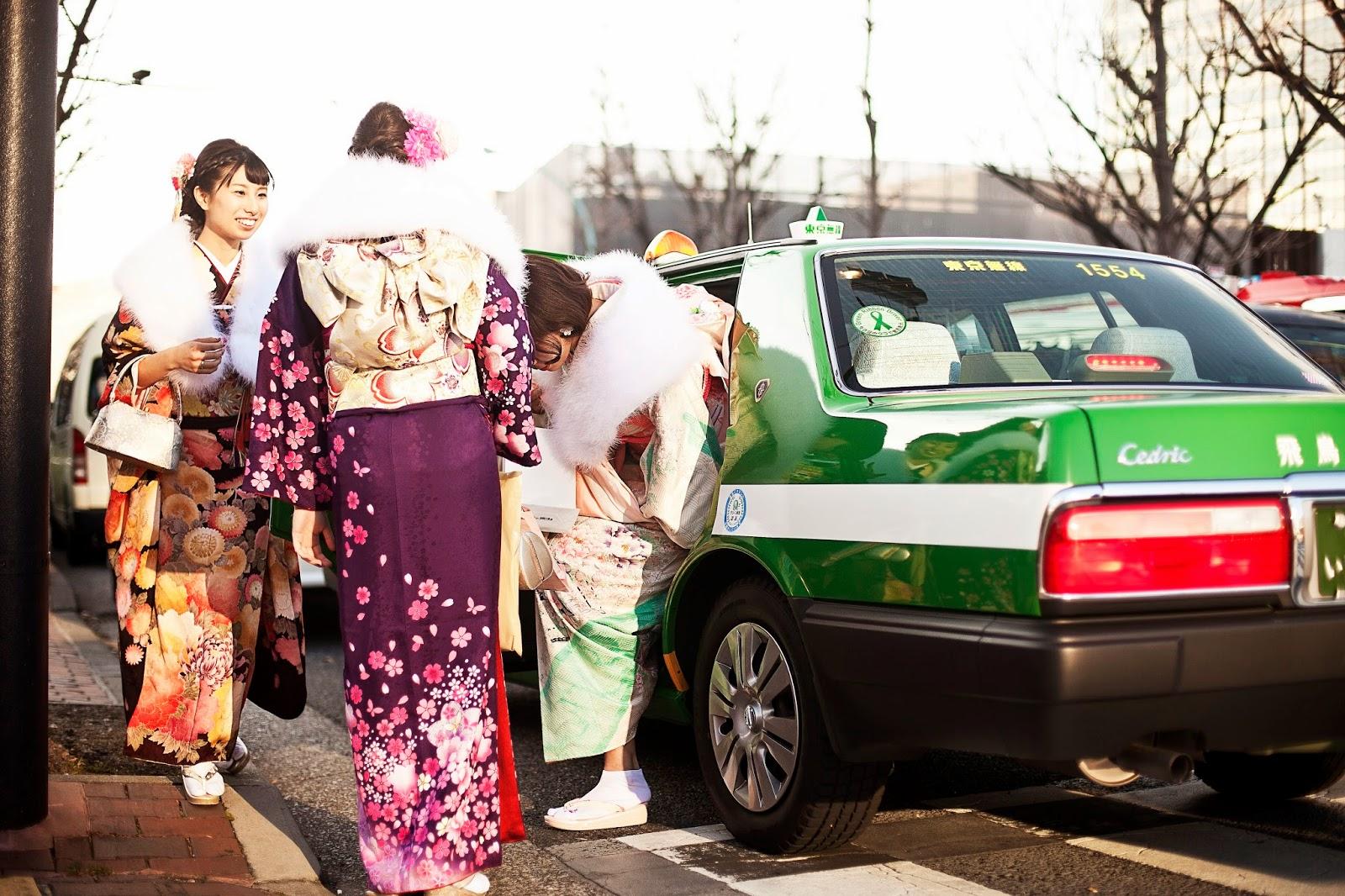 Japonesa en kimono 6