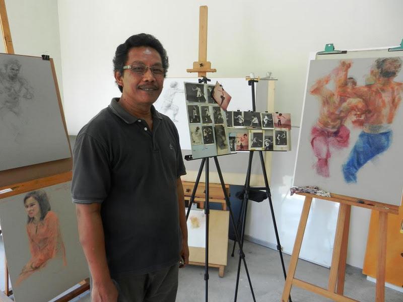 Adiguru lukisan saya, Amron Omar.
