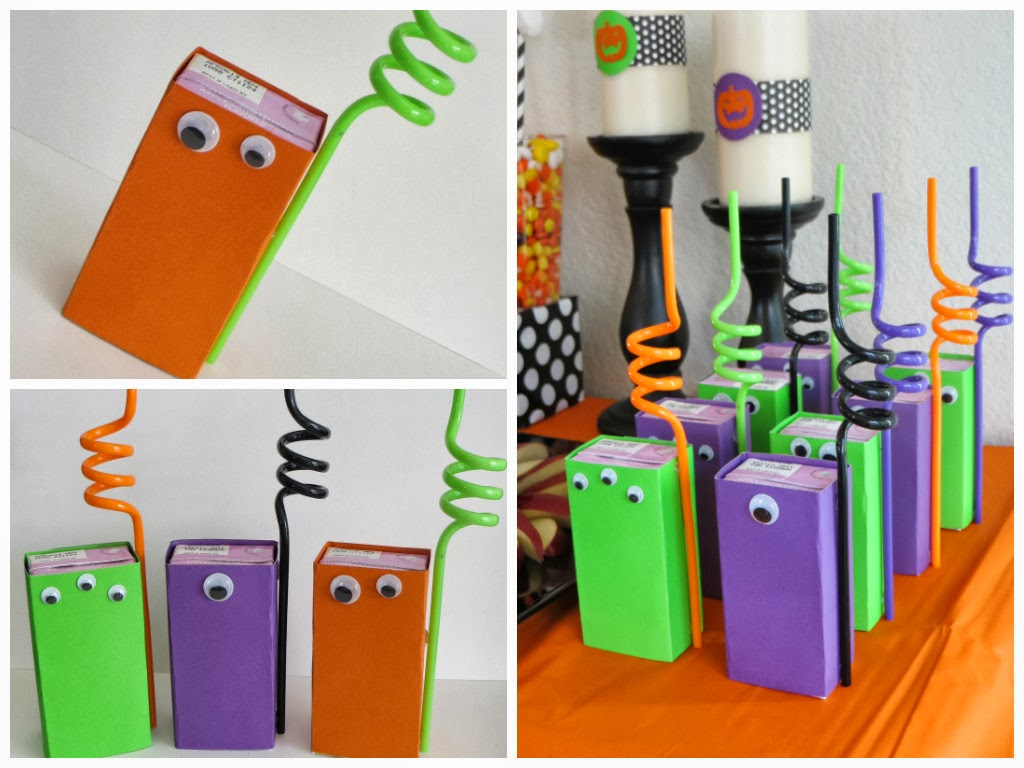 Kylie Mae's Party Ways: How to Make Your Own Monster Juice Boxes!