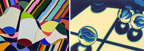多摩美術大学テキスタイル、劇場美術デザインコース合格者作品
