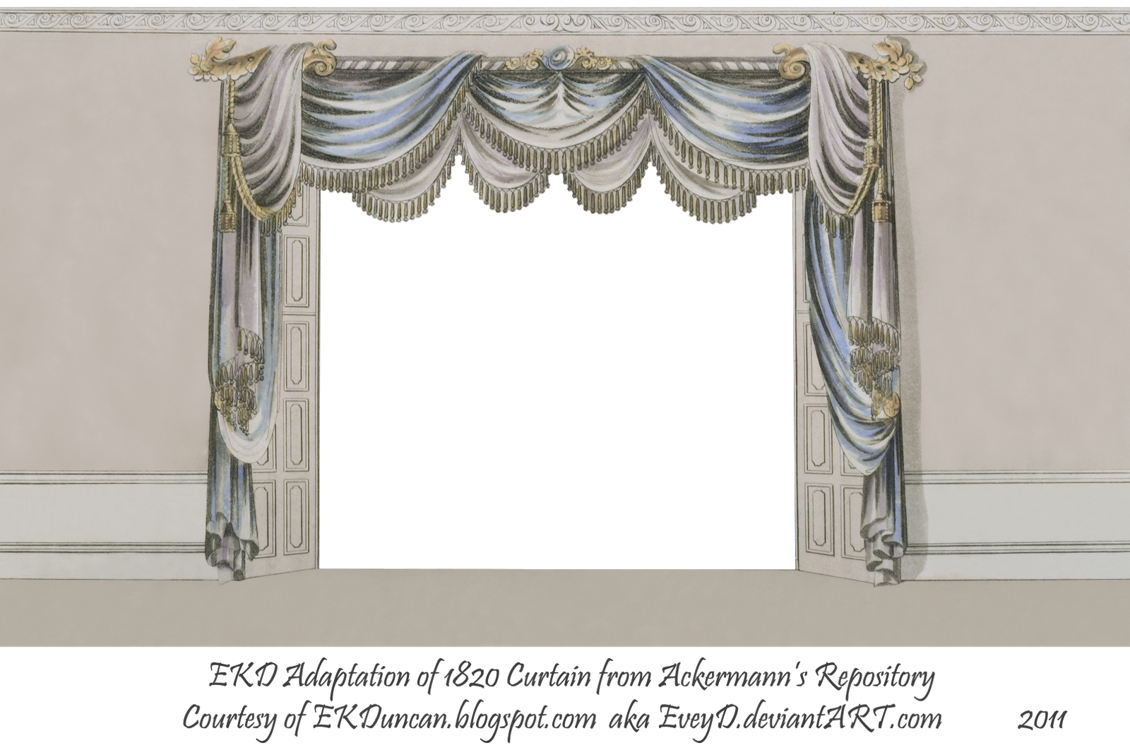 For the curtain portion of the image curtain only png