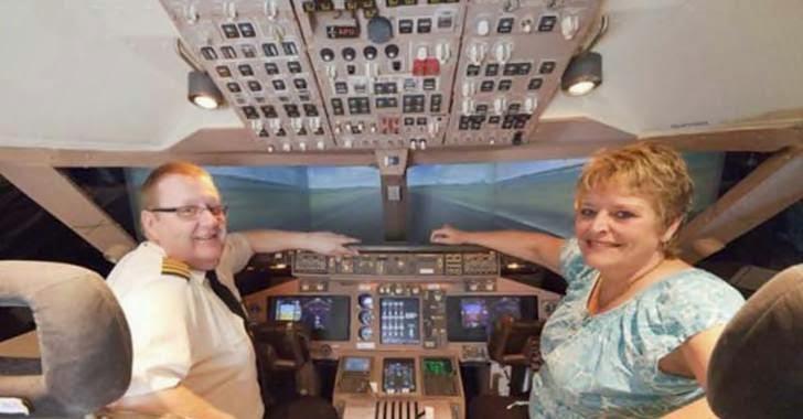 simulator pesawat terbang