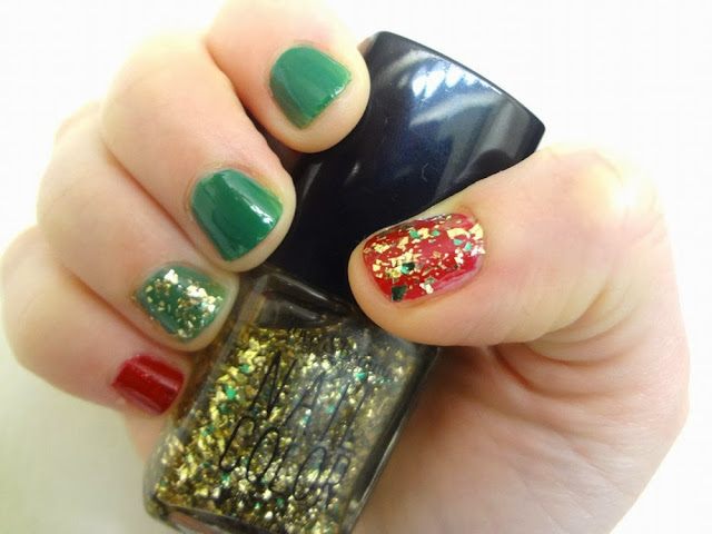 aka Bailey, nail polish, Christmas nails