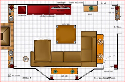 Foundation Dezin Decor Colorful Plan With Furniture